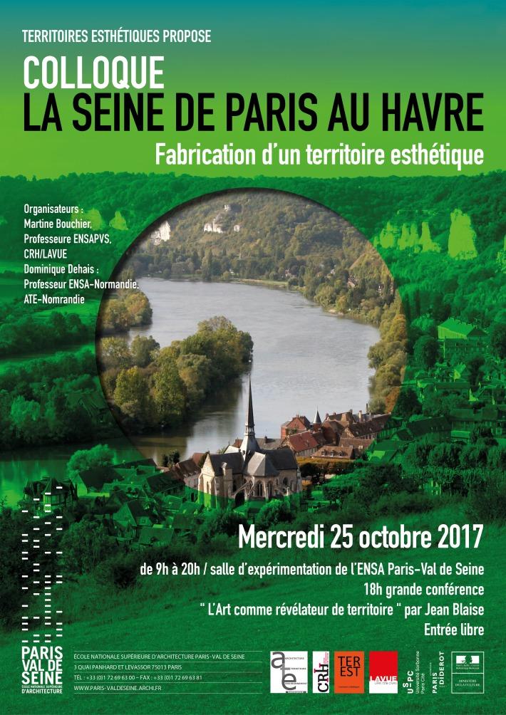 Affiche De La Seine au Havre